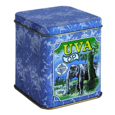 Mlesna Uva черный чай ж/б 100г