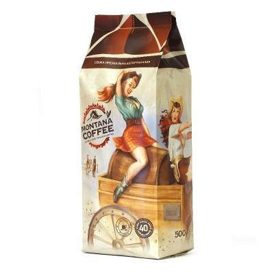 Montana Coffee Амаретто в зернах 500г