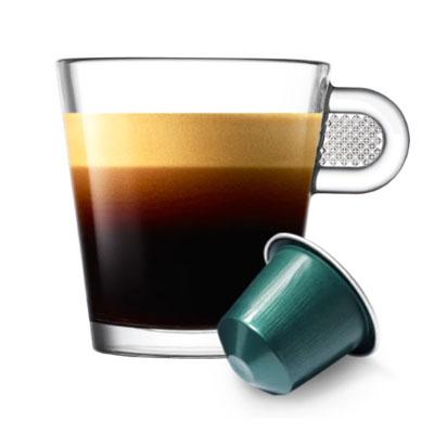 Nespresso Fortissio Lungo тубус 10 капсул