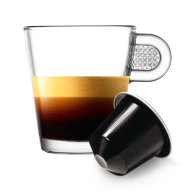 Nespresso Ristretto Decaffeinato тубус 10 капсул