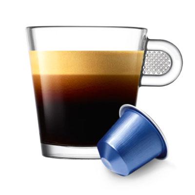 Nespresso Vivalto Lungo Decaffeinato тубус 10 капсул