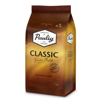 Paulig Classic в зернах 1кг