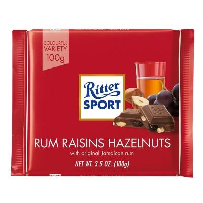 Ritter Sport Ром, изюм, орех 100г