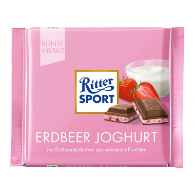 Ritter Sport (Клубника с йогуртом) 100г