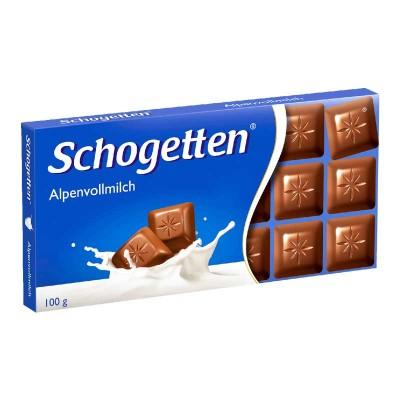 Молочный шоколад Schogetten Alpine Milk 100 г