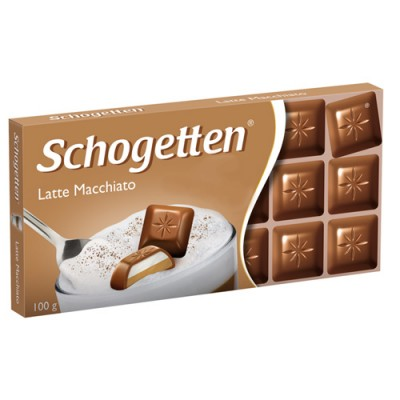 Молочный шоколад Schogetten Latte Macchiato 100 г