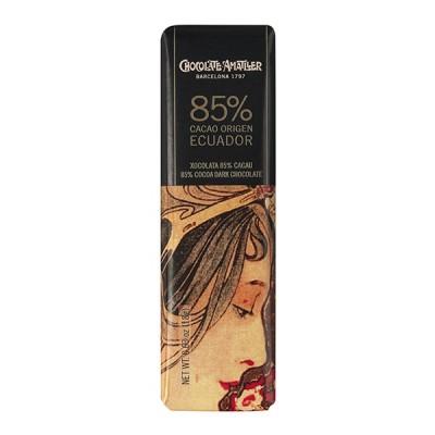 Черный шоколад Amatller Ecuador 85% Cacao 18г