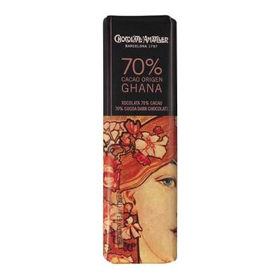 Черный шоколад Amatller Ecuador 70% Cacao 18