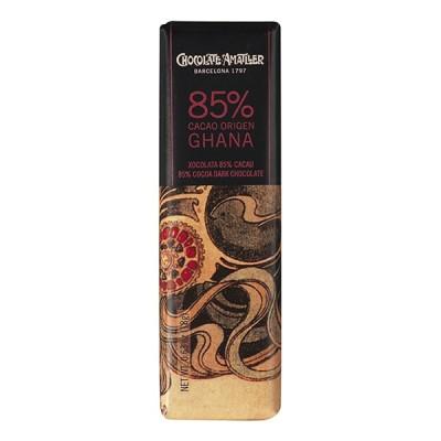 Черный шоколад Amatller Ghana 85% Cacao 18г