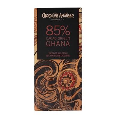 Черный шоколад Amatller Ghana 85% Cacao 70г