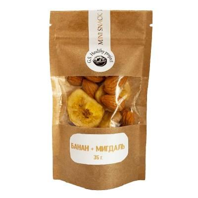 Healthy Snacks Банан + Миндаль 35 г
