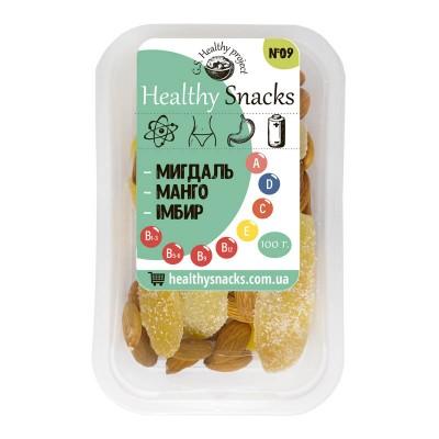 Healthy Snacks Миндаль +Манго +Имбирь 100г