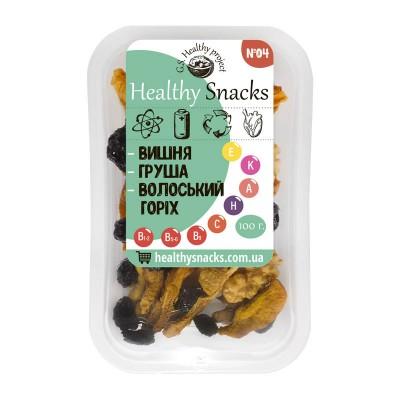 Healthy Snacks Грецкий орех +Вишня +Груша 100г