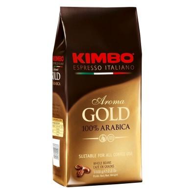 Kimbo Aroma gold 100% Arabica в зернах 1кг