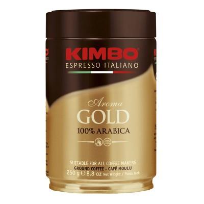 Kimbo Aroma gold 100% Arabica молотый ж/б 250г