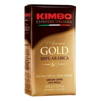 Kimbo Aroma gold 100% Arabica молотый 250г