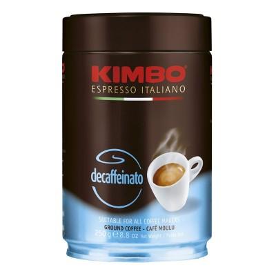 Kimbo Espresso Decaffeinato молотый ж/б 250г