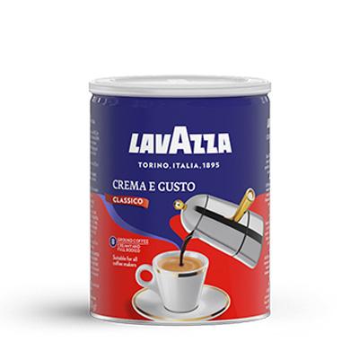 Lavazza Crema e Gusto молотый ж/б 250г