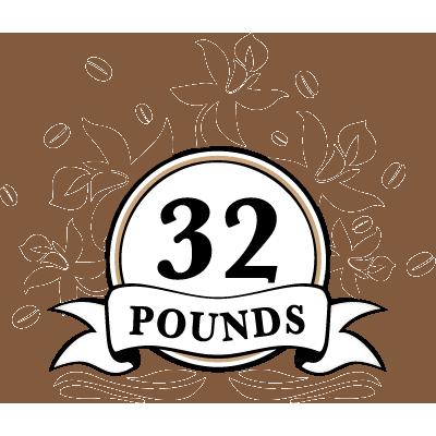 32 POUNDS