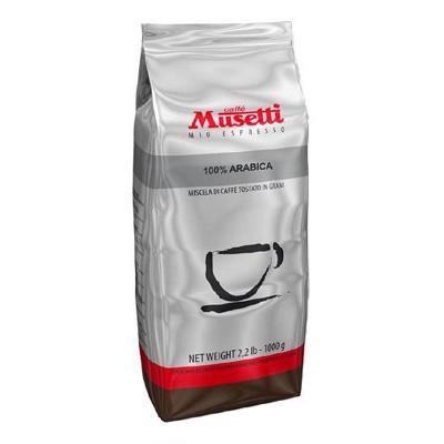 Musetti Arabica 100% в зернах 1кг
