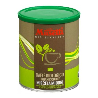 Musetti Organic Midori молотый ж/б 250г