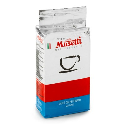 Musetti Decaffeinated молотый 250г