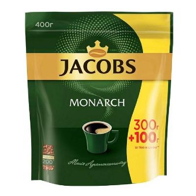 Jacobs Monarch растворимый 400 г