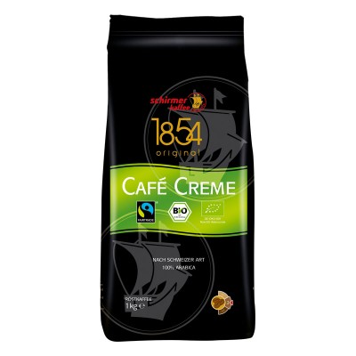 Schirmer Kaffee Bio Cafe Creme в зернах 1кг