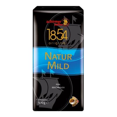 Schirmer Kaffee Natur Mild молотый 500г