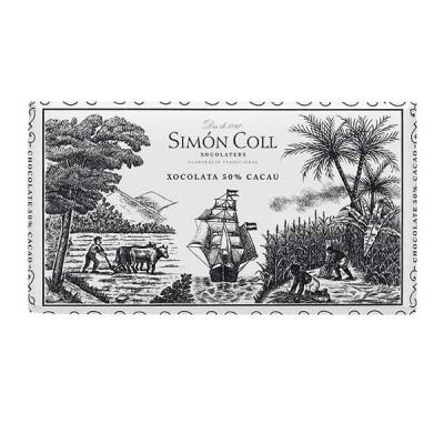 Черный шоколад Simon Coll Cacao 50% 200г